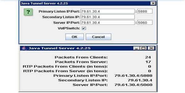 Java Tunnel Server-Computer